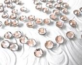 144 pcs., 720 pcs. or 7200 pcs./Light Peach SS20 Hot Fix (Hotfix) Iron On, Glue On, Heat Transfer,  Crystal Rhinestones 5mm / 144 Pieces