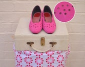 Bright Pink Vintage Heels