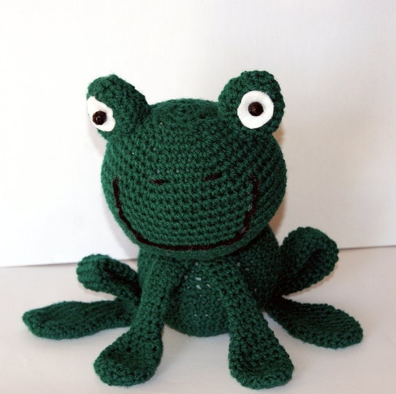 Amigurumi Green Frog : Etsy - Your place to buy and sell all things handmade ...