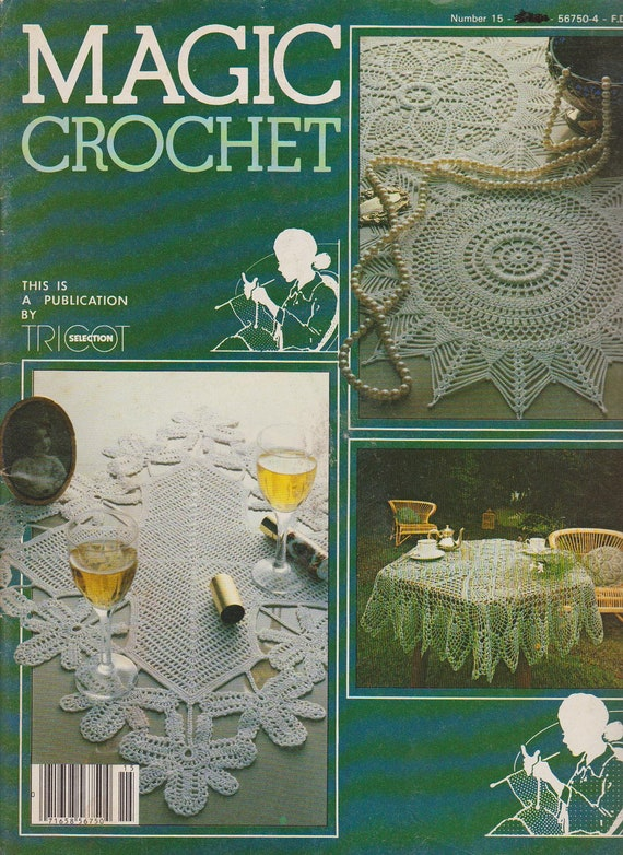Magic Crochet Magazine Number 15 - pattern and instruction publication ...