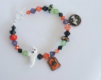 Boo - Halloween Bracelet