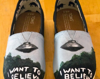 X-Files TOMS Shoes