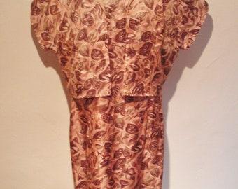1950s Sheath dress and Bolero