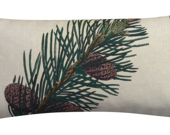 Mountain Pine Sachet Filled with Maine Harvested Balsam