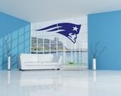 Removable New England Patriots Football Team Wall Art Decor Decal Vinyl Sticker Mural NFL Sports