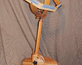 Rug hooking frame--optional floor stand