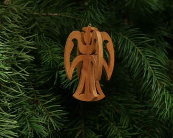 Angel 3-D Christmas Ornament 1