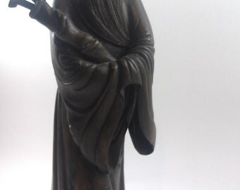 Hand carved Japanese sage or wise man.