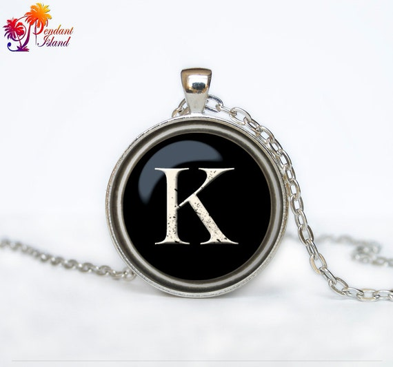 Letter pendant  necklace  jewelry (any letter of your choice)