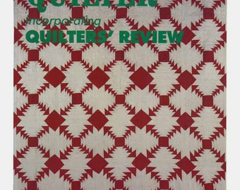 The Quilter Magazine Issue 41 Winter 1989