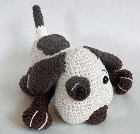 Amigurumi Dog Toy Patterns : Crochet Toy Pattern Crochet Amigurumi Dog by ...