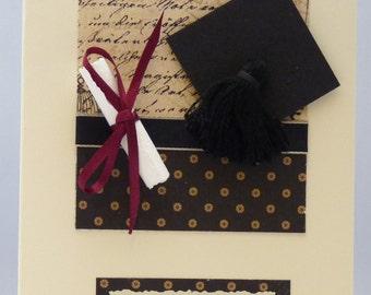 Handmade Card - Graduation