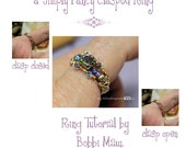 a Simply Fancy Clasped Ring - Wire Jewelry Tutorial - Instant Downloadable Pdf File