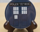 Doctor Who Pocket Mirror  Tardis- geekery - gift - nerd