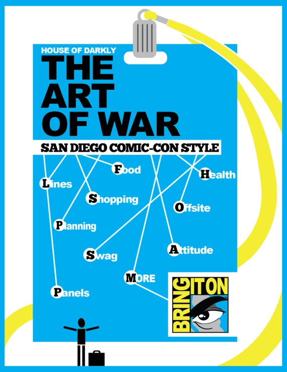 SDCC Art of War: Comprehensive Guide to Comic-con Attendance for Newbies & Vets Ver. 2 PDF