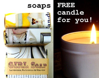A gift for them, a gift for YOU -Soy Candle and Soap Gift Set