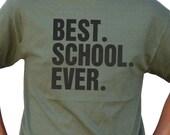 Graduation Gift Best School Ever T Shirt Mens t-shirt Womens Tshirt Class of 2013 High School Graduation Gift Tee