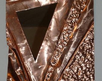 """Copper Mirror by Dennis Boyd (DB Designs - Creating Metal """"works of art"""") Mirror 6"""