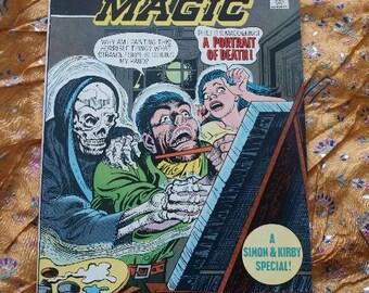 Black Magic DC Comics No 2 Simon Kirby 1974 Bronze Age Cat People Fools Paradise Comic Book