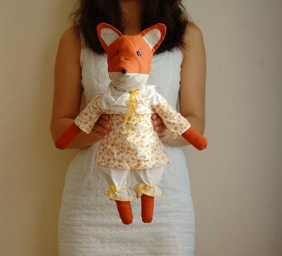 Fox toy. Fox. Stuffed toy. Red Fox.