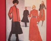 Vogue 1558 YVES SAINT LAURENT Sewing Pattern for Jacket, Vest, Blouse & Skirt, Size 10, Bust 32.5""