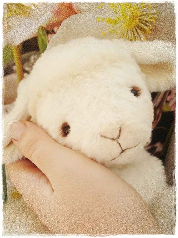"PDF Instant Download - Pattern / E-Book Baby Lamb "" HOPE "" :) - 5 Inch - by Eileen Seifert - Teddy-Manufaktur.de"