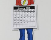 2013 Calendar Sheldon Cooper The Big Bang Theory Character Tag