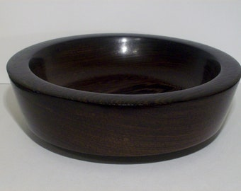 Wood Bowl- Wenge Wood (sn.015)