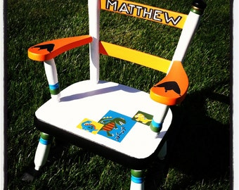 Personalized/Custom Children's Handpainted Rocking Chair/Furniture