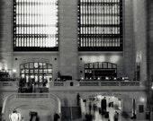 Black and White New York City Print, Grand Central Station, NYC Art, New York Photography, Gray, Neutral, New York Print