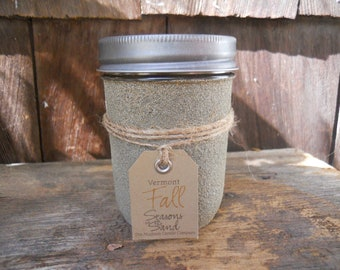 Vermont Soy Candle Fall Seasons in the Sand Rustic December Holiday Christmas