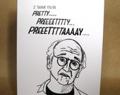 Valentine's Day Larry David Curb Your Enthusiasm Card