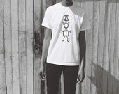 THANKS Clothing Shapes Unisex T-Shirt, S, M, L