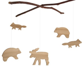 Woodland Animal Mobile