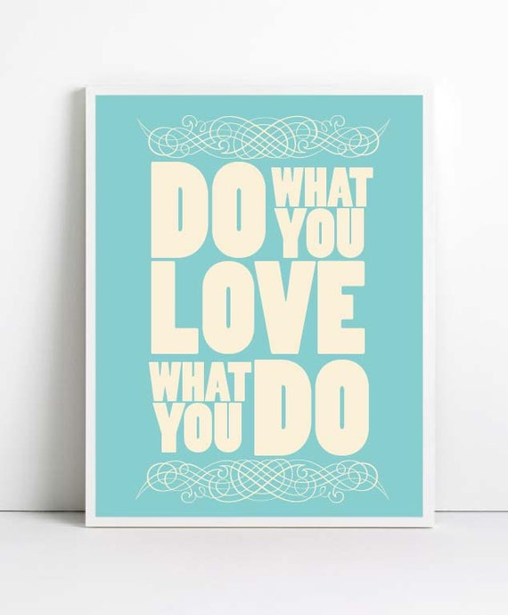 Do What You Love via Design is Yay!