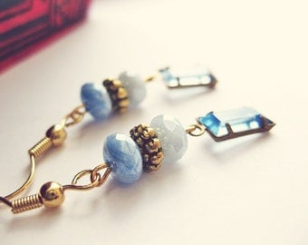 Nautical - Saphire Blue Earrings