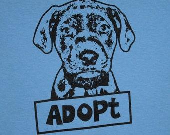 Adopt Dog Womens Tee