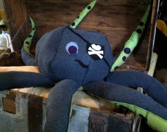 Pirate Octopus Giant Plush stuffed animal life size sea monster