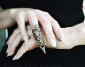 Nail Ring Armor Ring Elegant Vintage Brass Knuckle Ring Armor Ring Claw