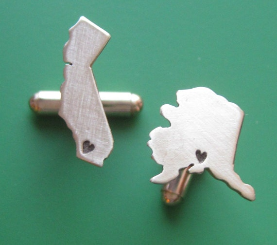 Custom Shape Cufflinks