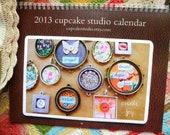 2013 wall calendar by cupcake studio