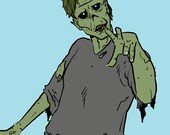 Zombies Hate that You are Awesome Book mark with Sleeve