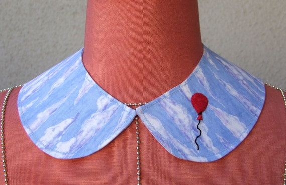 Carried Away collar with red balloon