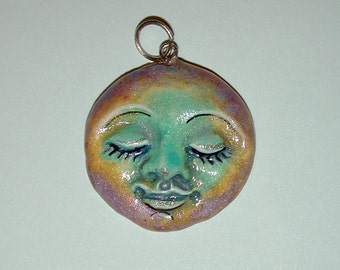 Sunshine and Moon Beams Handcrafted  Pendant