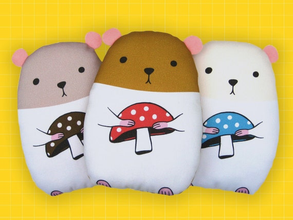 Hamster Plush Pillow