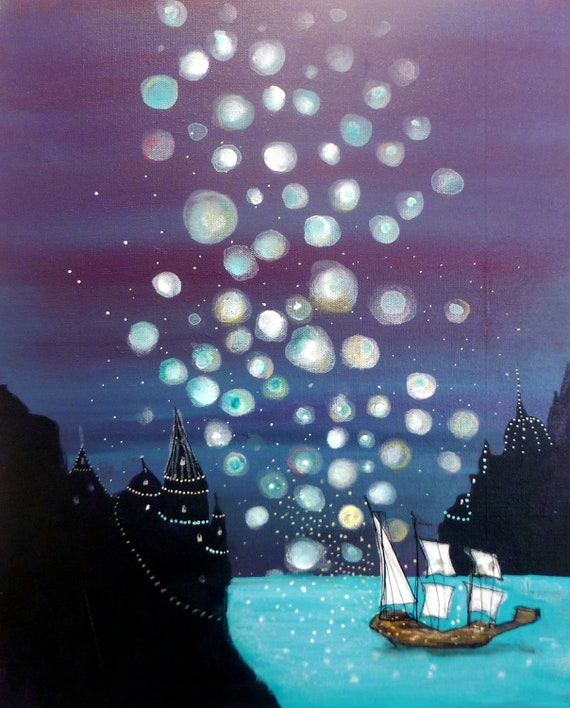Your Ship is Coming In - original painting