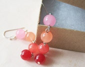 Passionfruit Candy Jade Earrings - Pink - Gifts Under 15.00 - pulpsushi