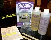 Amazing Casting Resin - 16 Ounce Kit - Quick Cure 20 Minutes - Make Your Own Jewelry and Crafts   P102
