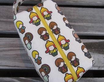 Firefly Character Box Bag, SHINY