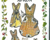 Blooming APRON Sewing PATTERN